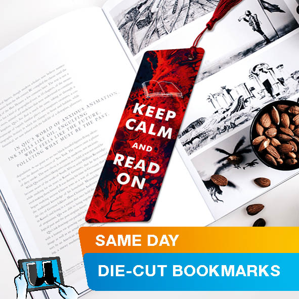 Die Cut Bookmarks