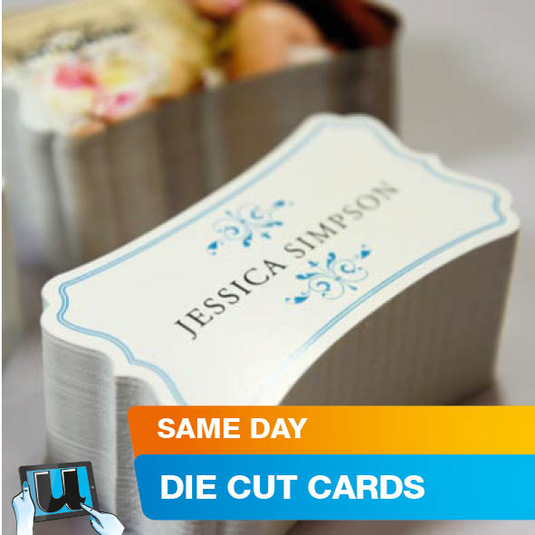 Business card printing online die cut business cards colourmoves