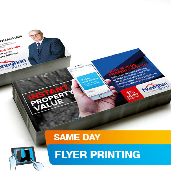 Brochures & Flyers Flat 1 Side