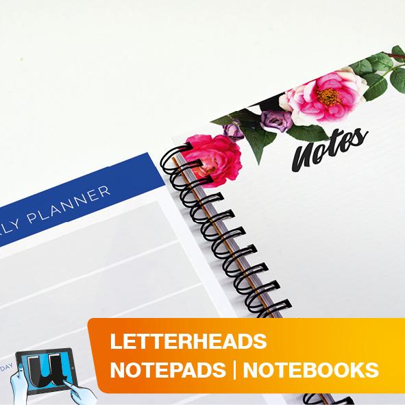 Letterheads | Notepads & Notebooks