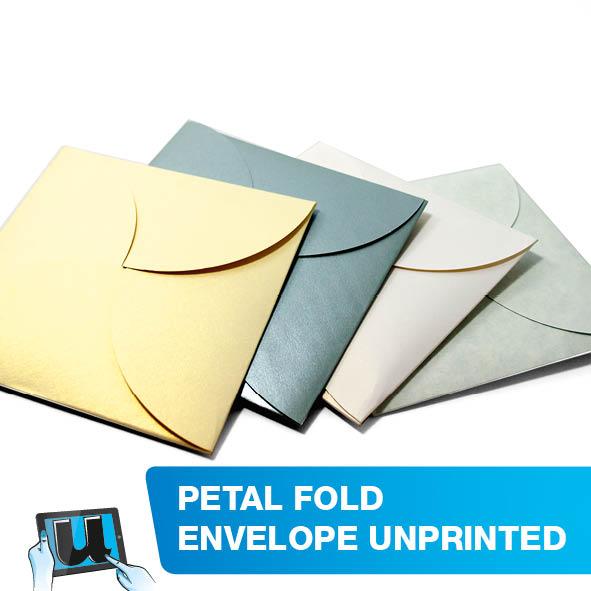 Petal Fold Envelope Unprinted