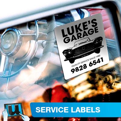 Service Labels