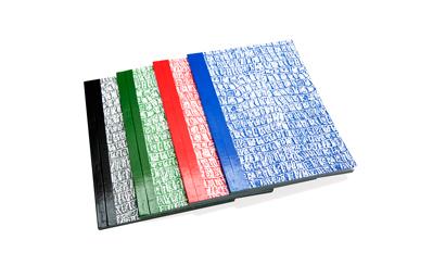 Invoice Book Colours